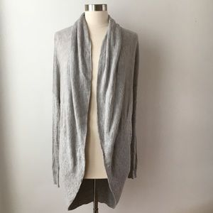 H by Halston Shawl Collar Cocoon Cardigan